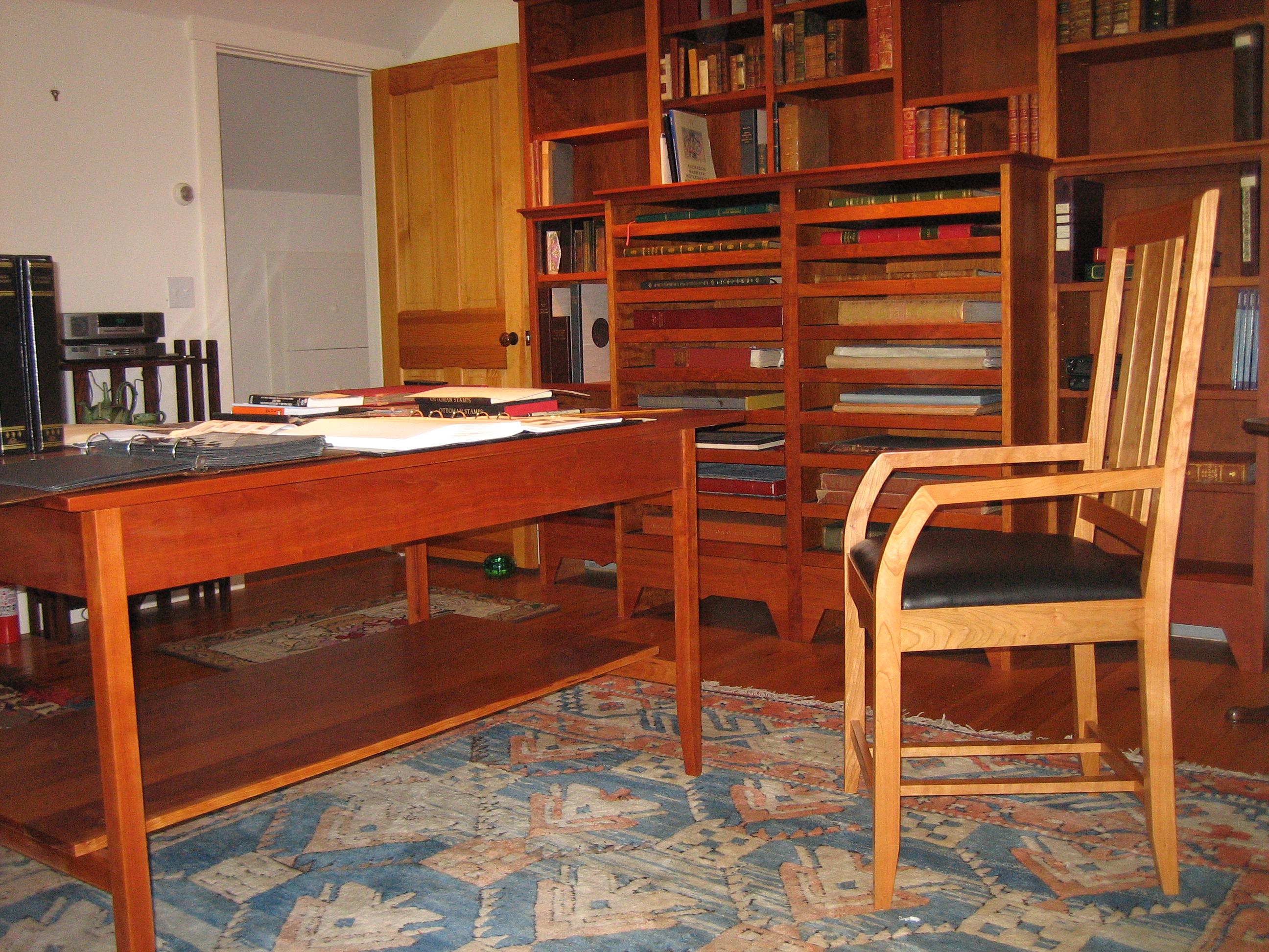 Cherry Furniture, handmade furniture, furniture maker