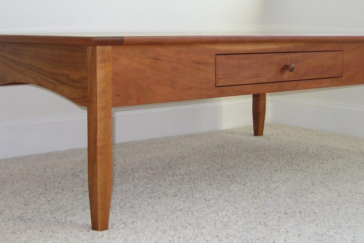 Shaker furniture-shaker coffee table-Cherry coffee table
