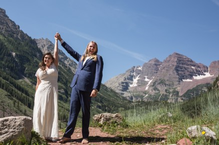 Colorado Wedding Photography Services | Blue Spruce Wedding Photo | Anne & Patrick
