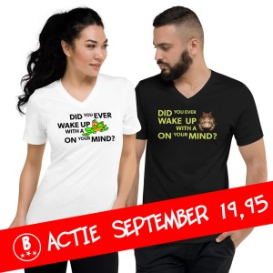 September T-shirt Actie Bullfrog Blues NU €19.95