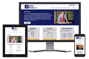 John M. Brooks Website