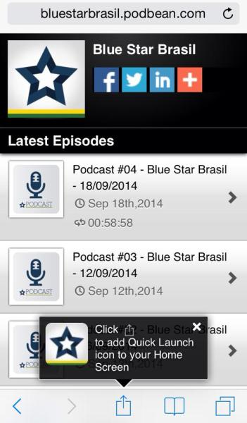 Podcast iOS 7