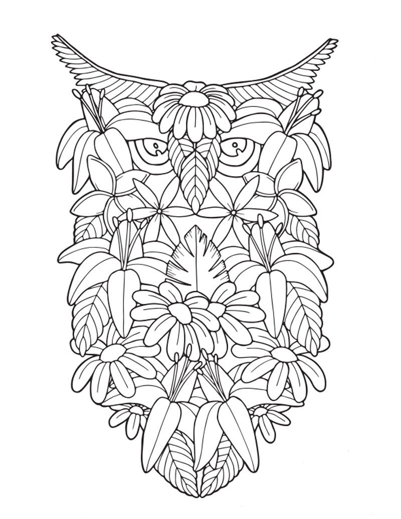 Adult Coloring Book: Tropical Travel Patterns