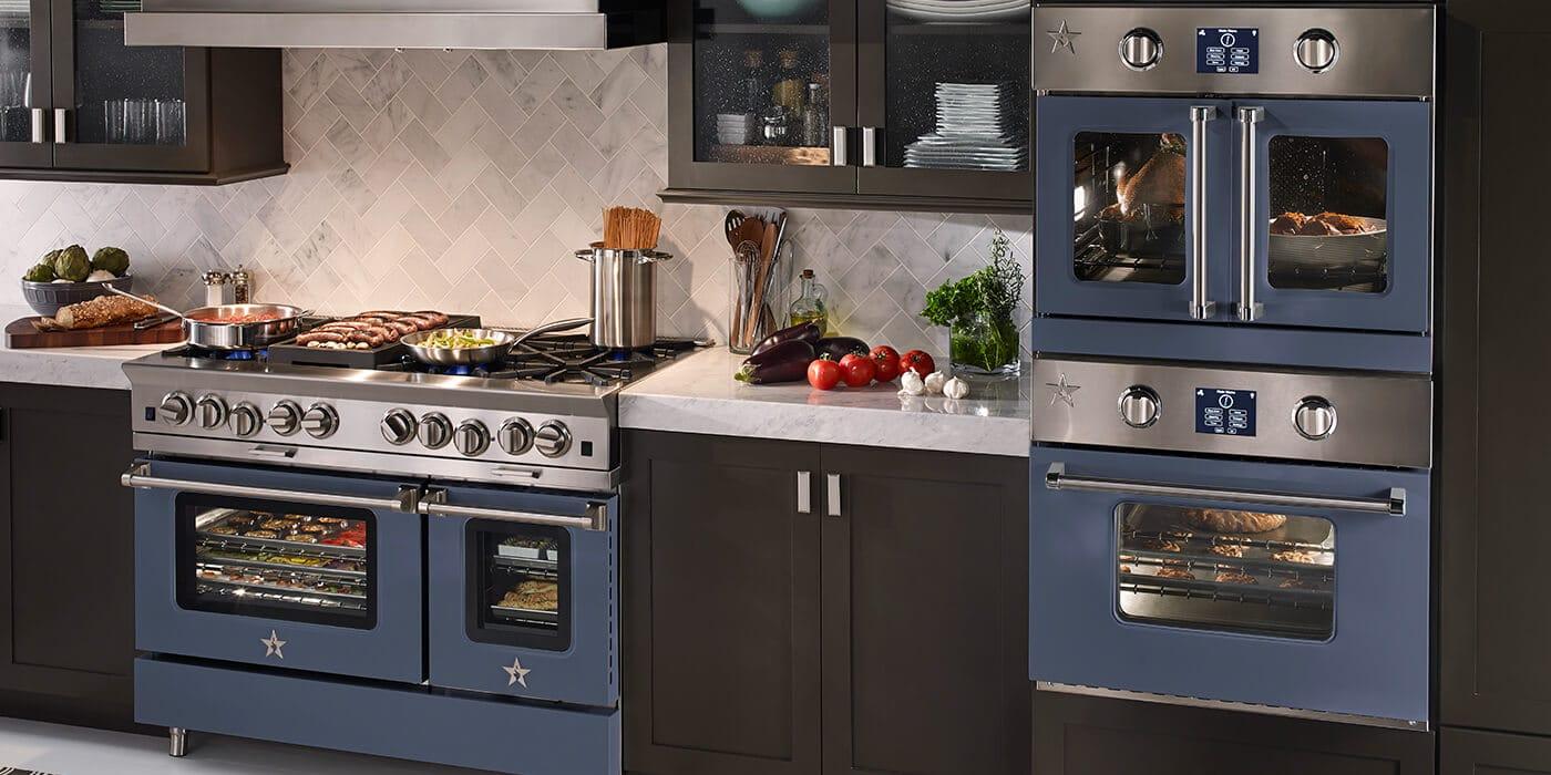 Professional Grade Ranges Stoves  Hoods  BlueStar Cooking
