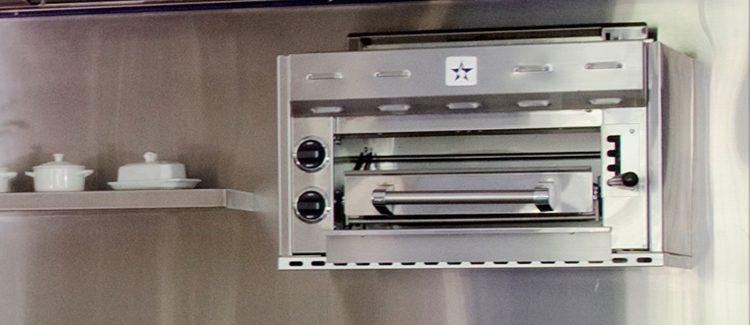 kitchen salamander cabinets kansas city what is a broiler bluestar