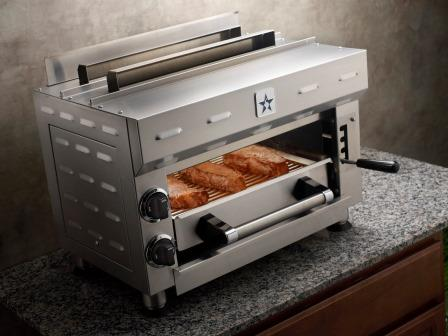 kitchen salamander floor options what is a broiler bluestar broiling steaks with 22 000 btus of power