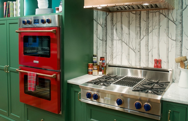 30-inch Double Electric Wall Oven and Rangetop from BlueStar