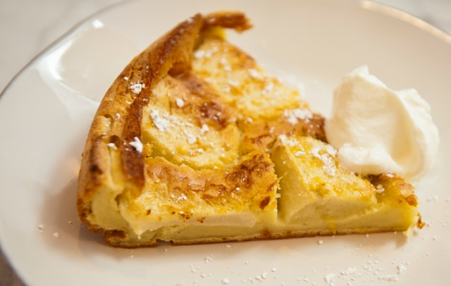 The Granny Smith Clafoutis for All-Star Chef of All-Star Chef Ryan Scott
