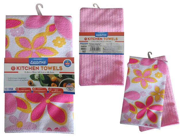 Wholesale Piece Kitchen Towel Sku 2pc