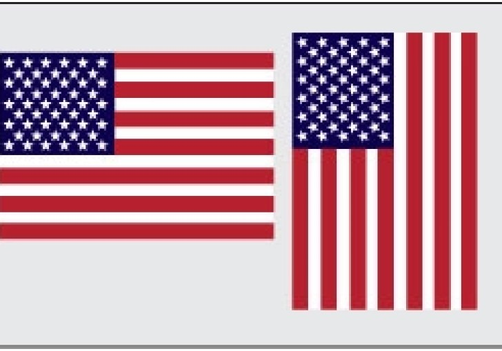 How To Display American Flag On Wall