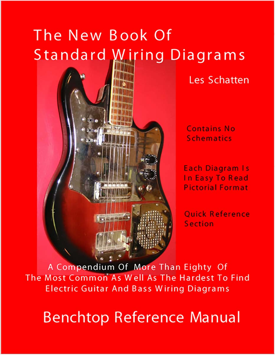 medium resolution of schatten book of standard wiring diagrams for guitar bass single coil telecaster wiring diagram
