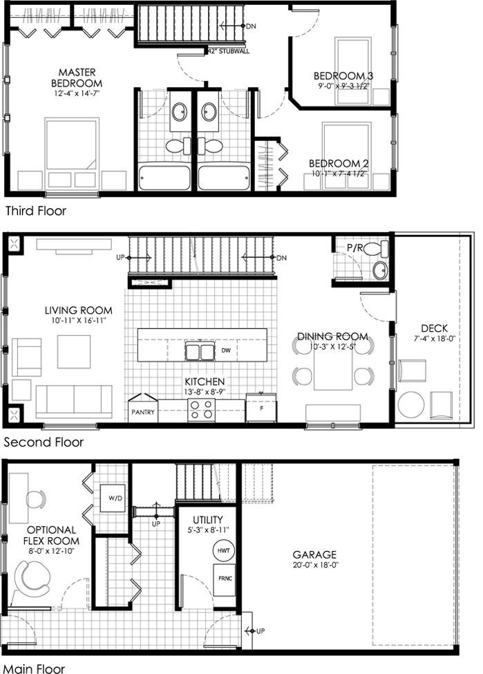 The Tamarack is the 4th of 5 Floor Plans at Bluestem