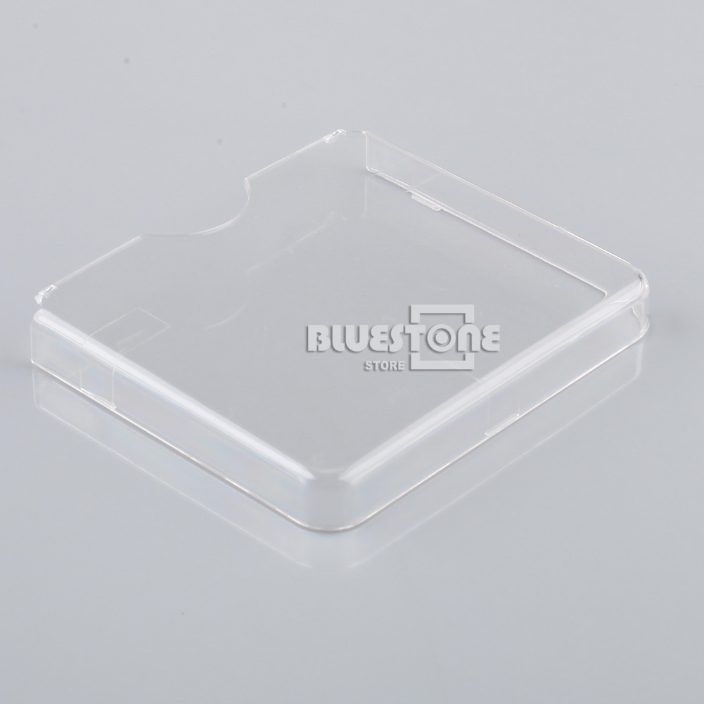Plastic Clear Hard Protector Case Cover For Nintendo Game