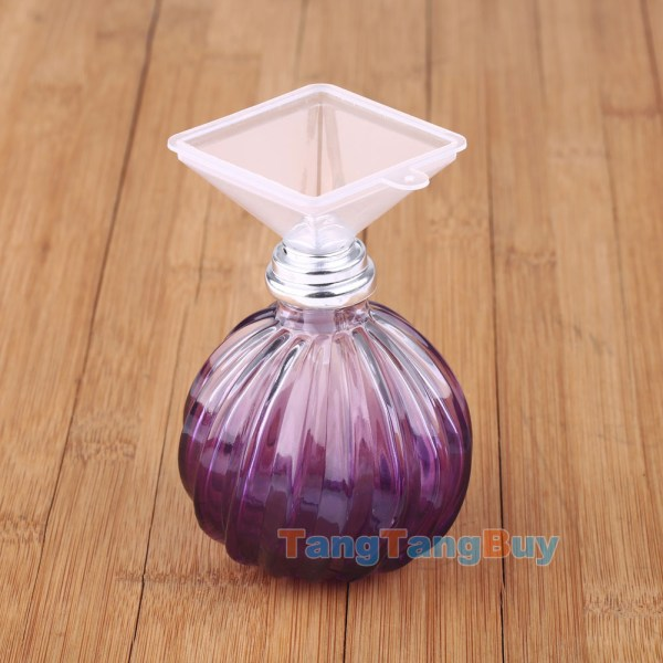 Fashion Purple Oil Diffuser Perfume Bottle Fragrance