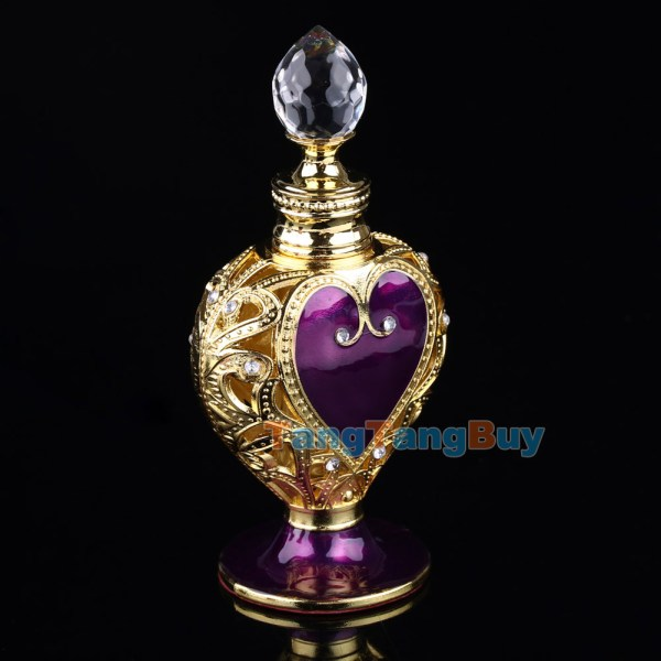 Purple Heart Perfume Bottle