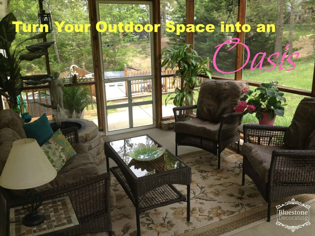 Ideas for turning your outdoor space into an extra living area.