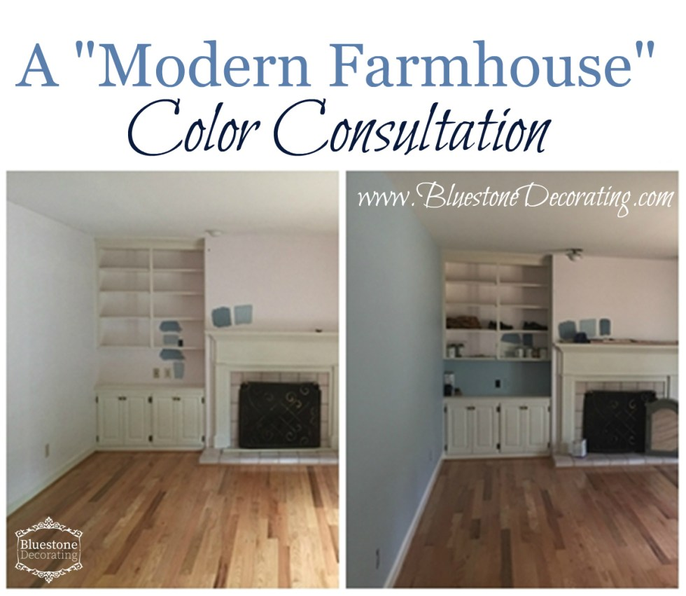 A Modern Farmhouse Color Consultation