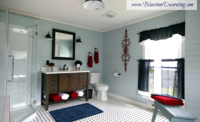 The Farmhouse Bathroom in Blue Grass, VA