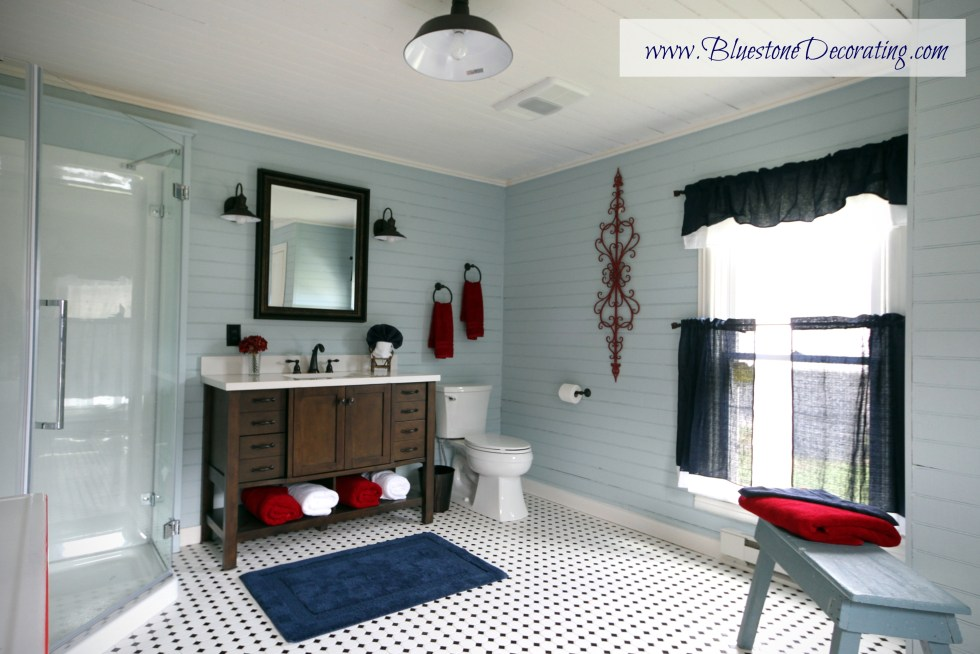 "The ""After"" of the Highland County Farmhouse Bathroom"