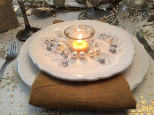 Sparkly Tablesettings