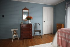 New Closet in the Farmhouse Twin Bedroom
