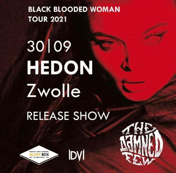 The Damned Few - Black Blooded Woman - Hedon Release party