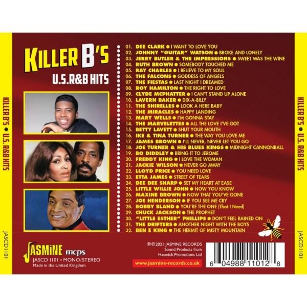 Various Artists - Killer B's U.S. R& B Hits-back
