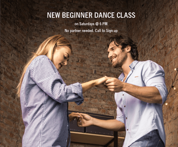 Dance classes for beginners - Newcomer dance class