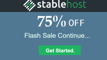 Stable Host falsh sale