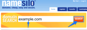 how to register domain at namesilo