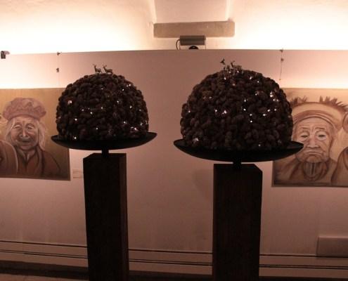 blütenwerke an der «Kunst und Malerei»