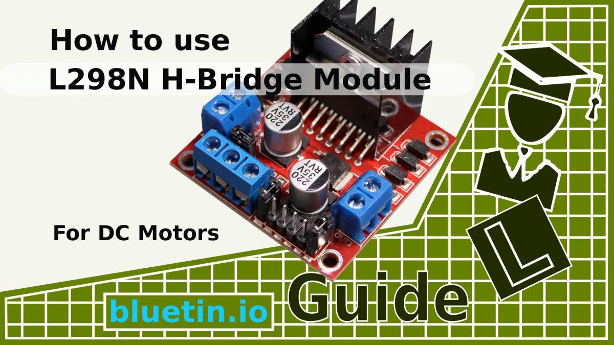 hight resolution of l298n dual h bridge dc motor driver module