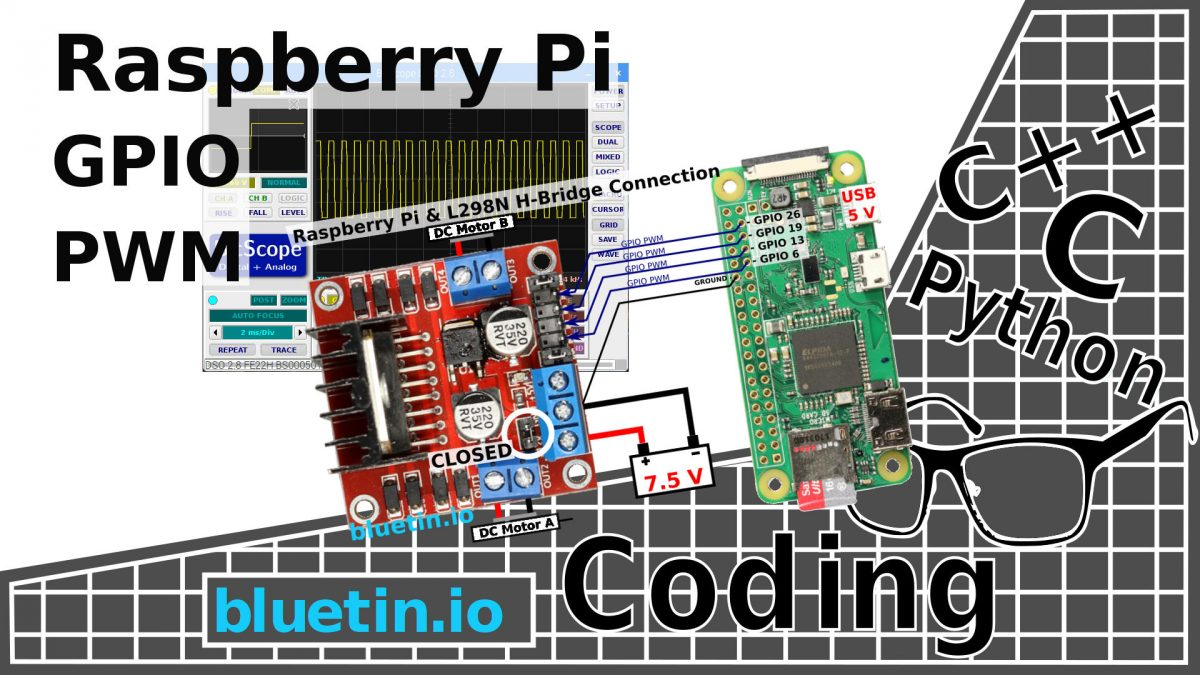 hight resolution of gpio pwm for raspberry pi h bridge dc motor control