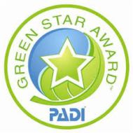 conservation partners PADI Green Star Award dive centre