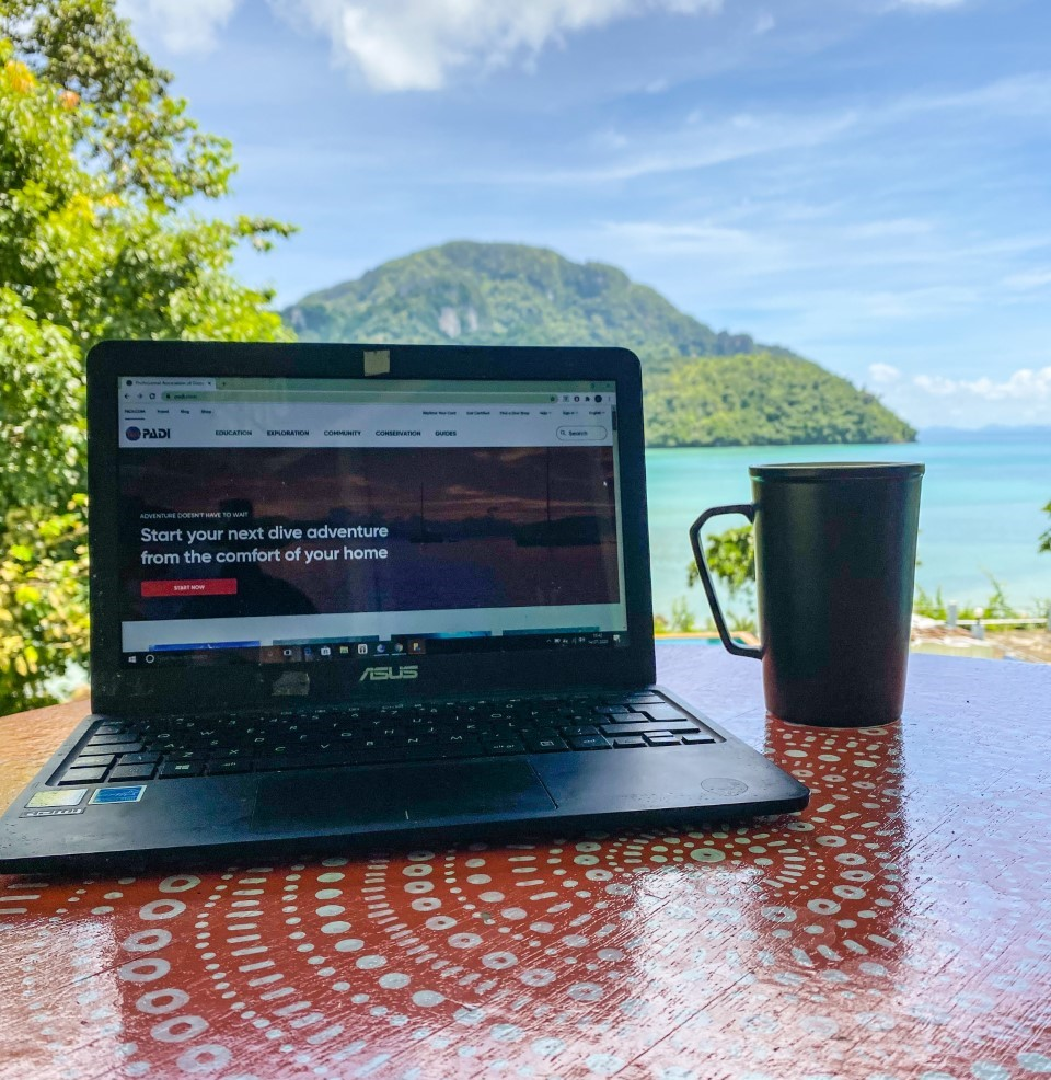 elearning PADI open water course