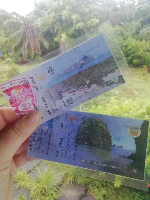 national park fees tickets
