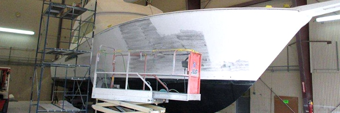 "New Paint and Mezzanine for Viking 52 ""Contango"""