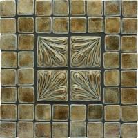 Fern Leaf Handmade Ceramic Tile (2x2)