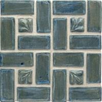 Leaf Handmade Ceramic Tile (1x1)
