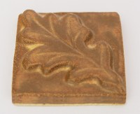 White Oak Leaf Ceramic Tile (2x2)