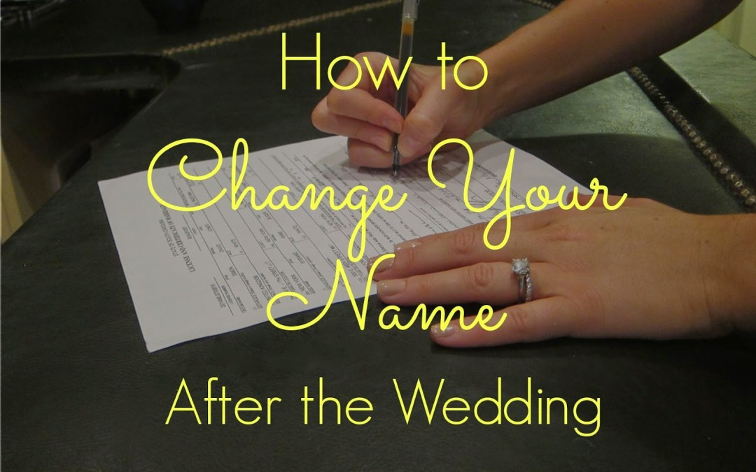 Here Are The Steps To Changing Your Last Name