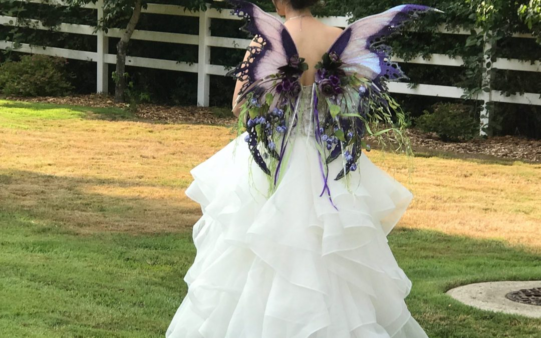 Want To Wear Fairy Wings At Your Wedding?