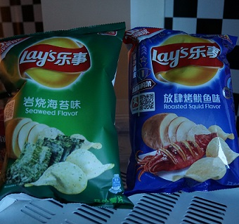 Chinese Lays chips