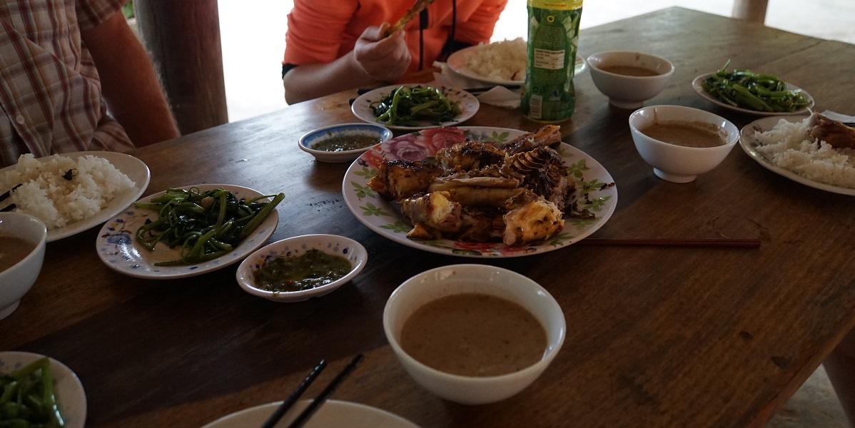 Thanksgiving dinner Vietnamese style