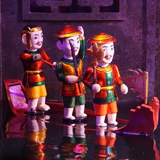 Water puppets in Vietnam