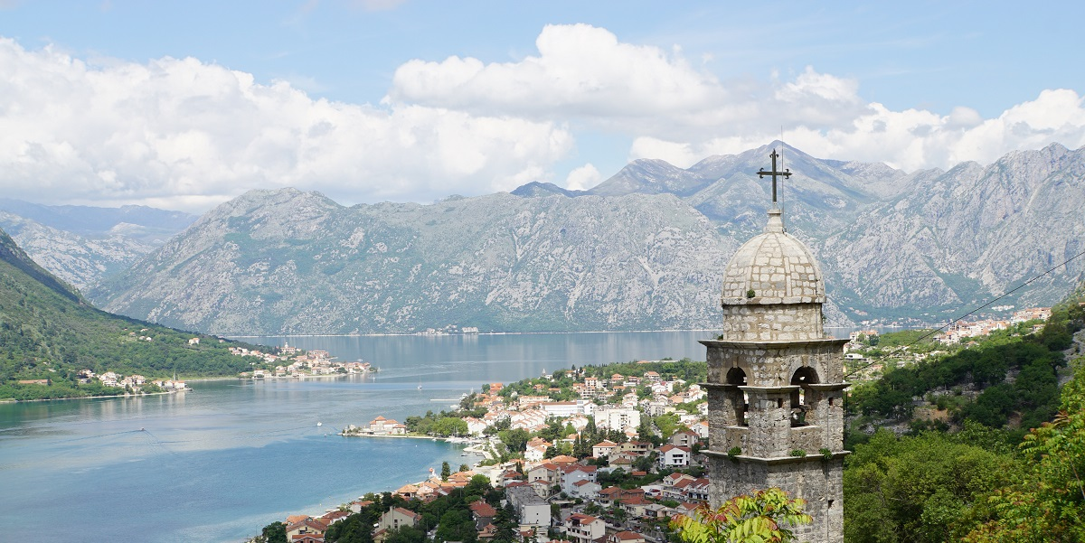 St. Maria on the River overlooks the Bay of Kotor
