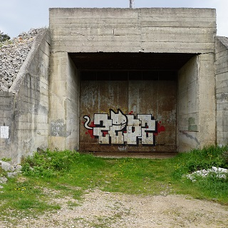 Decommissioned missile bunker