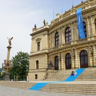 Prague concert hall