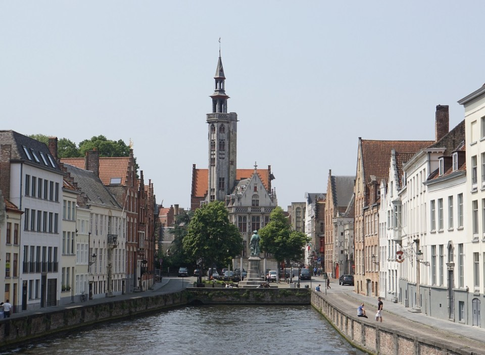 Bruges is another beautiful city in northern Europe built around canals