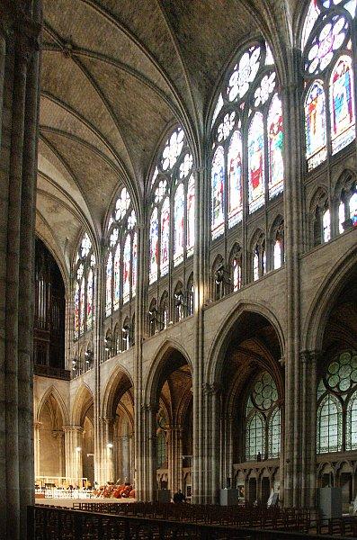 Images of Basilica of St Denis Paris